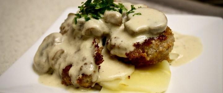7-1: Pork Tenderloin with Mushrooms