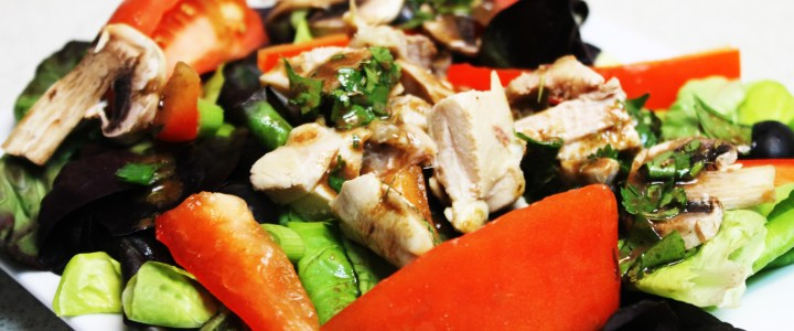 2-23: Grilled Chicken Salad