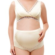 breast feeding maternity bra and panty set sexy women's pregnancy