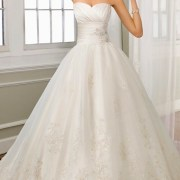 satin and organza floral embroidery wedding dress sexy womens bridal gowns