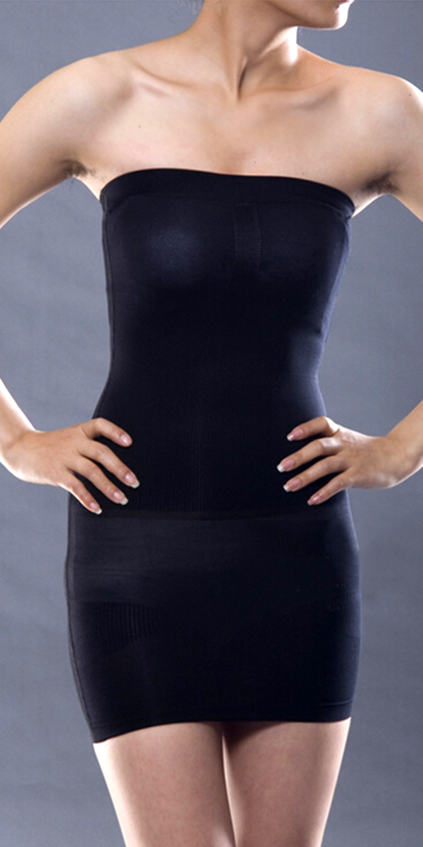 tube slimming body shaper dress sexy womens