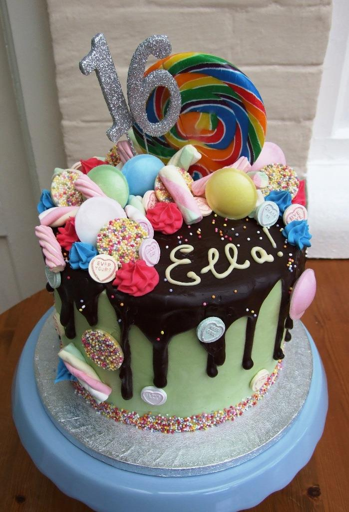 Cake Trends The Drip Cake Simply Delish