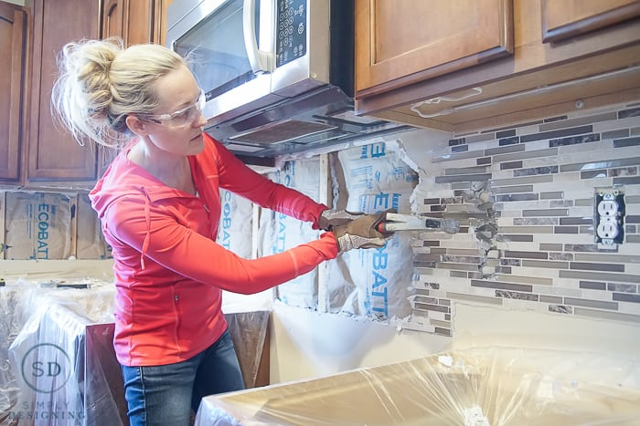 kitchen makeover how to install and