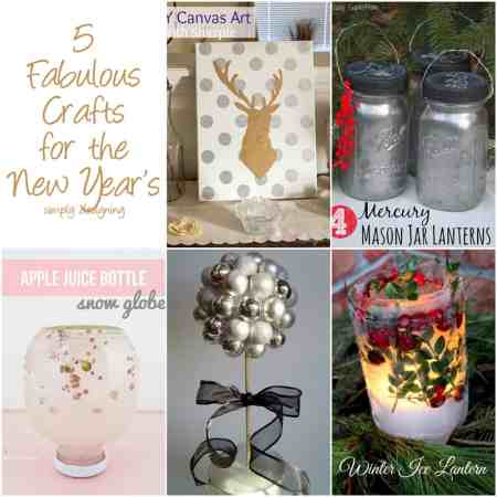 5 Fabulous Crafts for the New Year's