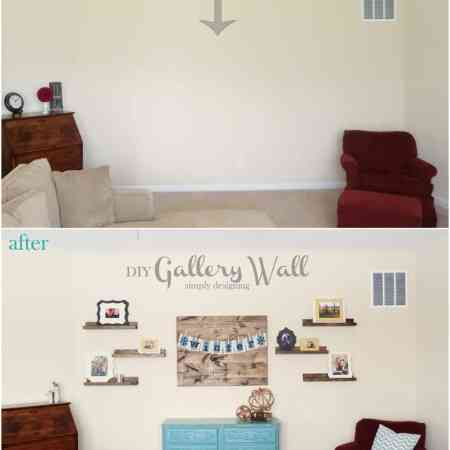 DIY Gallery Wall Reveal