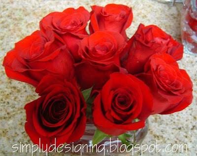 14 Days of Valentine – Day 12:  Flower Arrangement