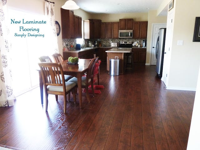 Laminate Wood Floors In The Kitchen