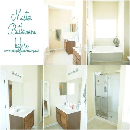 Master Bathroom Remodel: Part 2 {Demo}