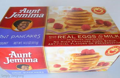 Breakfast with Aunt Jemima