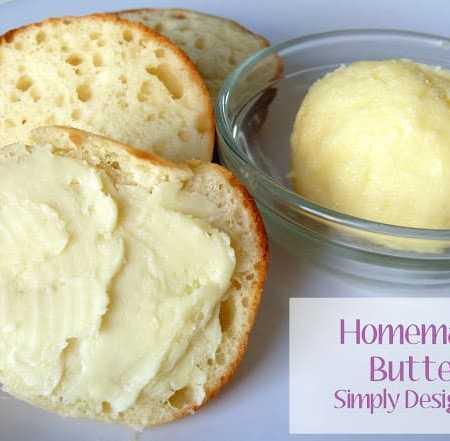 Homemade Butter using a Jar {Boredom Buster}