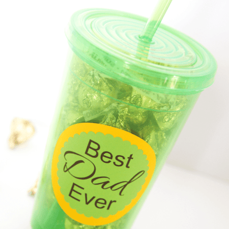 Simple Father's Day Tumbler Gift