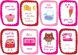 14 Days of Valentine – Day 12, Post 2: Looking for Last Minute Printable Valentines??