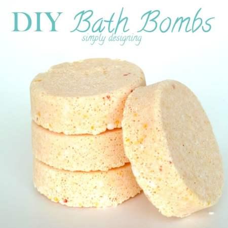 Homemade Bath Bomb Recipe {Apricot}