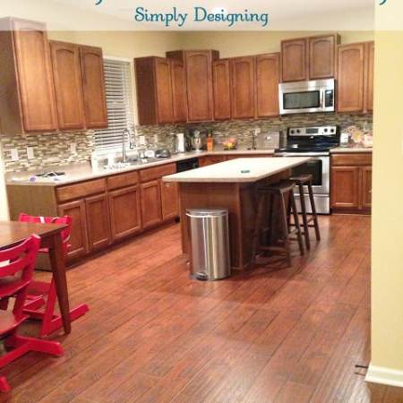 How To Install Floating Wood Laminate Flooring {Part 1}:  The Preparation