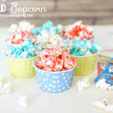 Kool-Aid Popcorn + Watermelon Blueberry Drink { #kooloff #shop }