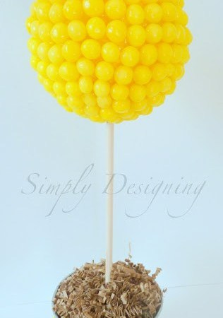 Lemon Head Topiary