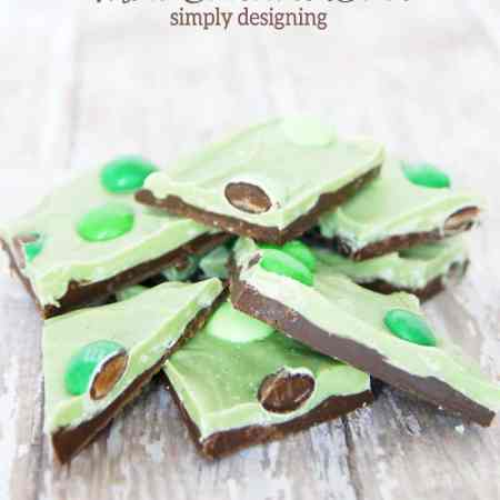Mint Chocolate Bark + a St. Patrick's Day Target Giveaway