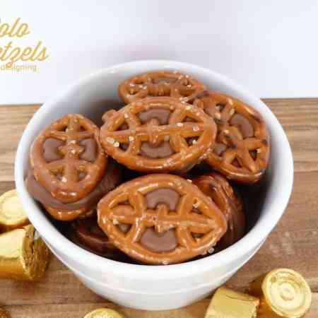 Chocolate Caramel Pretzels