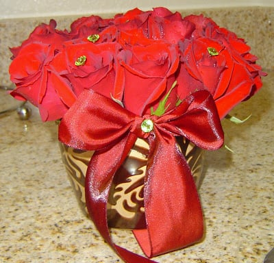 Fresh Flowers – Simple Holiday Decor