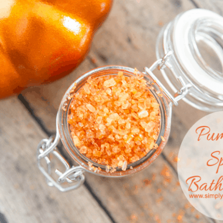 Pumpkin Spice Bath Salts