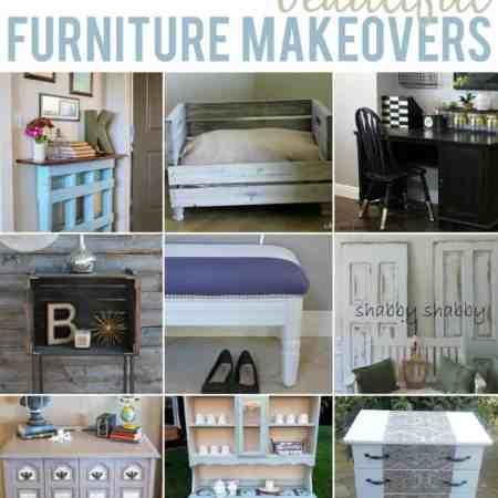 Beautiful Furniture Makeovers