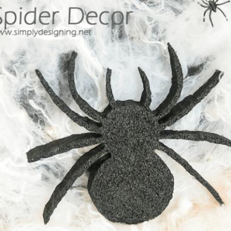 DIY Spider Decor