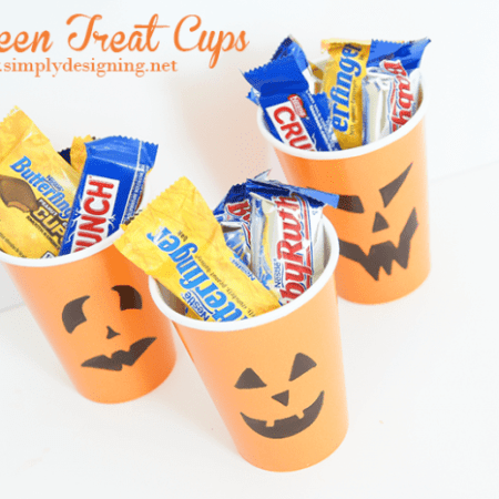 Halloween Treat Cups