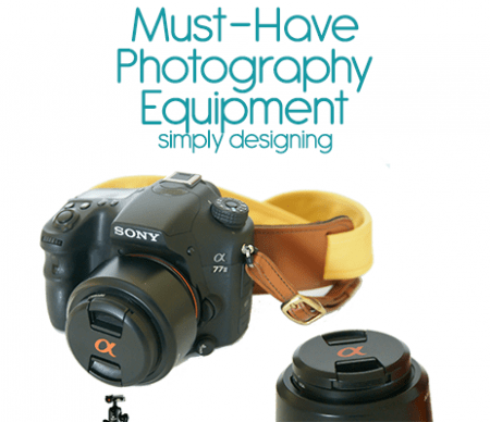 Favorite Photography Equipment