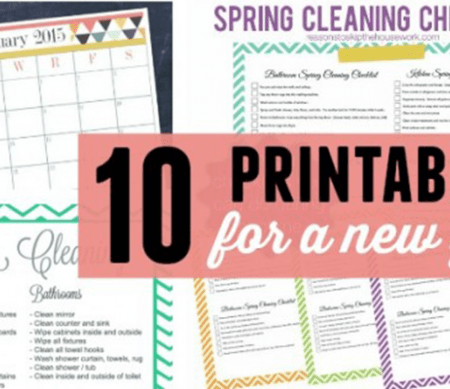 10 Printables for a New Year