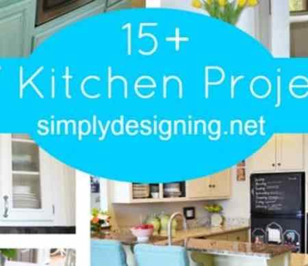 15 + DIY Kitchen Projects