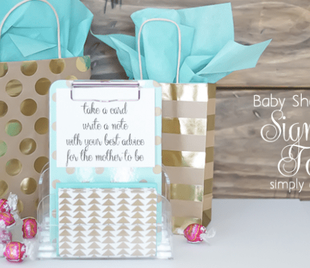 The Cutest Baby Shower Idea