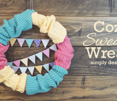 Cozy Sweater Wreath