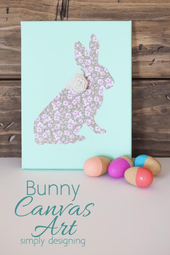 Bunny Canvas Art