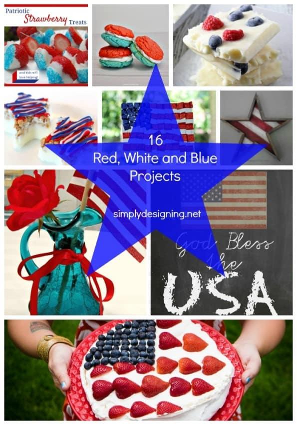 Patriotic Projects Pinterest Image