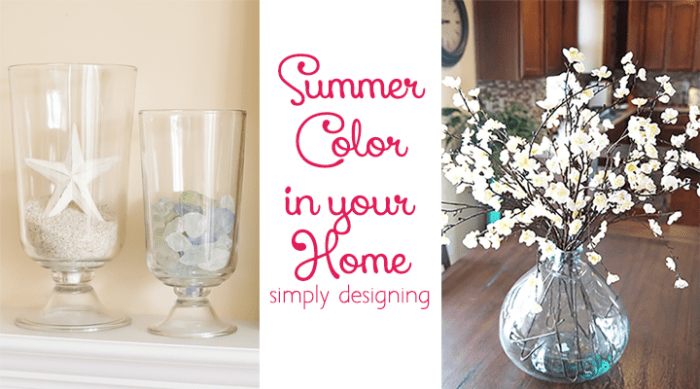 Incorporate Summer Colors into your Home Without Breaking your Budget