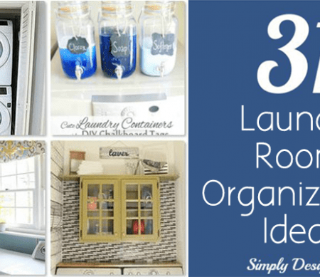 31 Laundry Room Organization Ideas