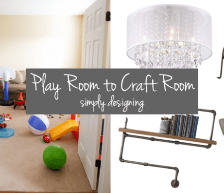 Play Room to Craft Room : Part 1