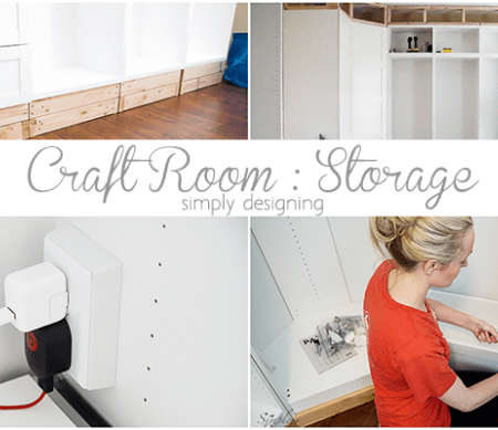Craft Room : Installing Storage : Part 2