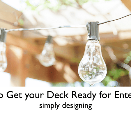 6 Tips to Get your Deck Ready for Entertaining