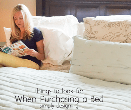 Top Things to Look for When Purchasing a Bed
