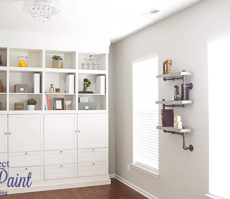 Craft Room : the Perfect Gray Paint : Part 6