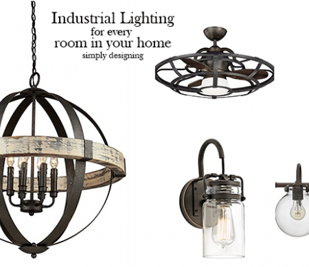 Industrial Lighting Ideas for Every Room in your Home