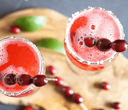 Cranberry Lime Mocktail Recipe