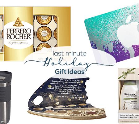 Last Minute Holiday Gift Ideas