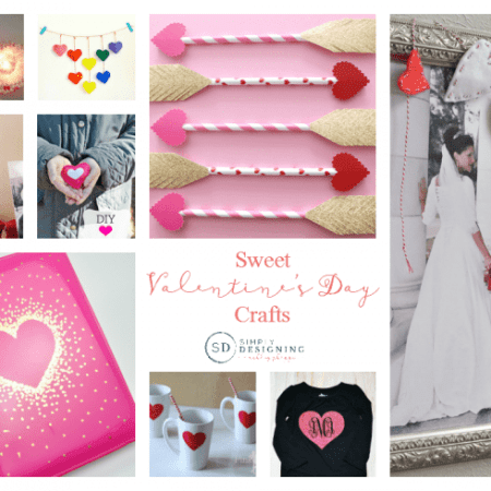 Sweet and Simple Valentine's Day Crafts