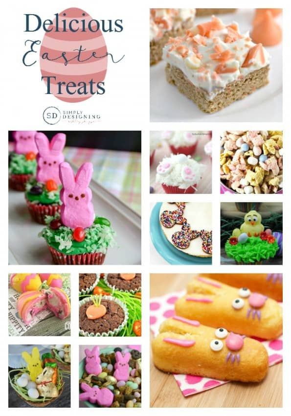 Delicious Easter Treats Pinnable