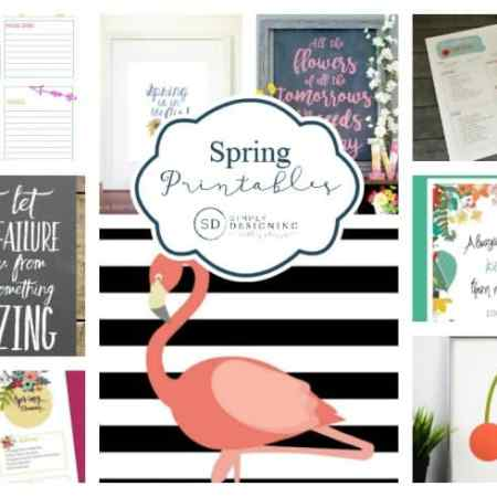 Spring Printables / Simple Designing