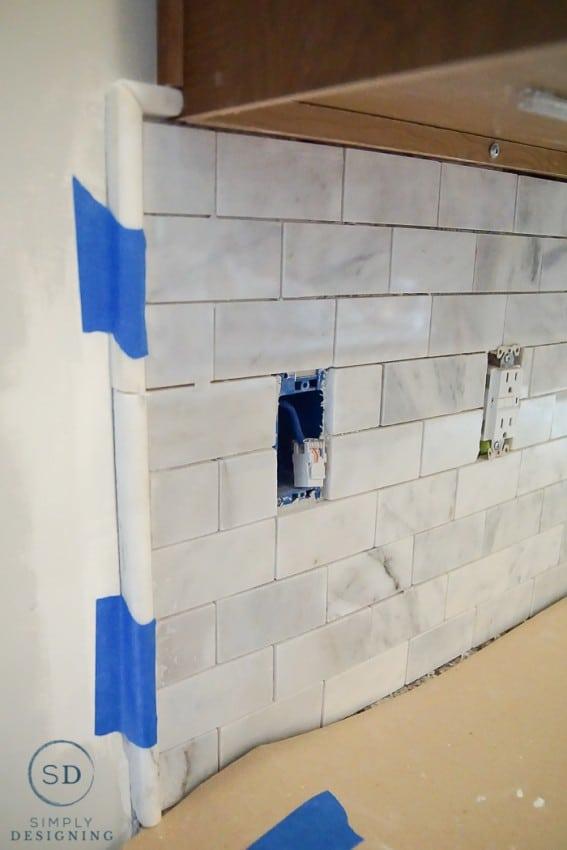 pencil tile border