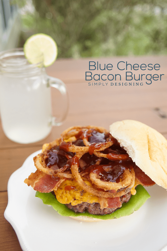 Blue Cheese Bacon Burger