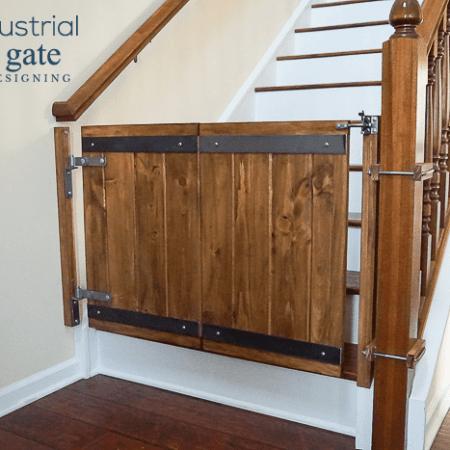 Industrial DIY Baby Gate